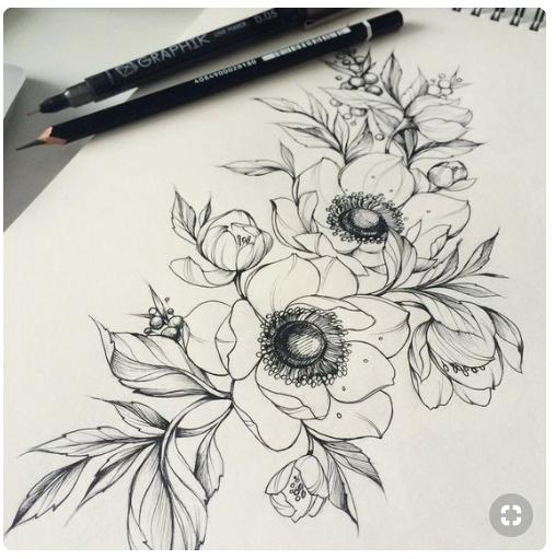 Tatouage Fleur Coquelicot Cactus And Style Cactus Style
