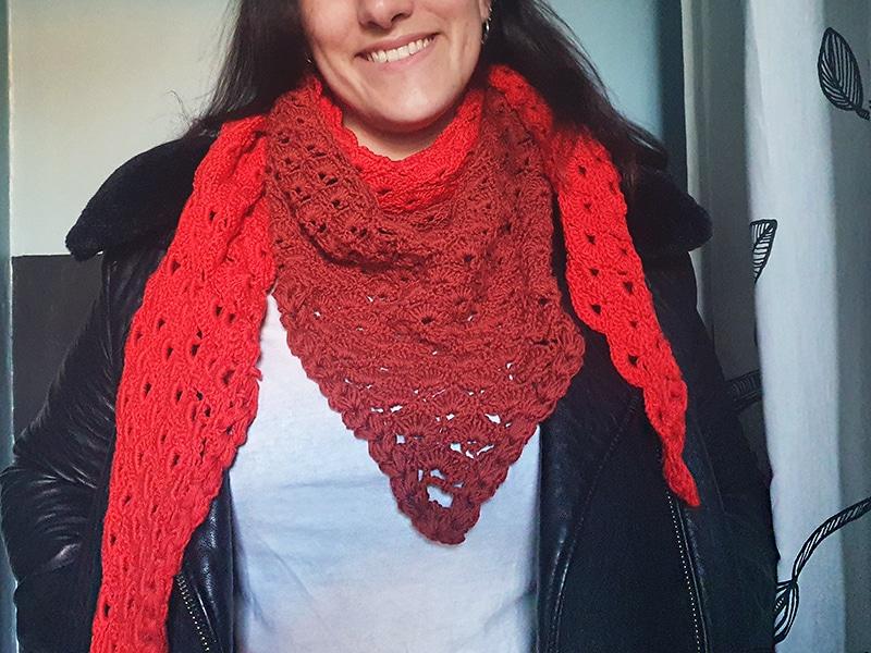 Diy Un Chale Au Crochet Facile Et Gratuit Mama Makeuse